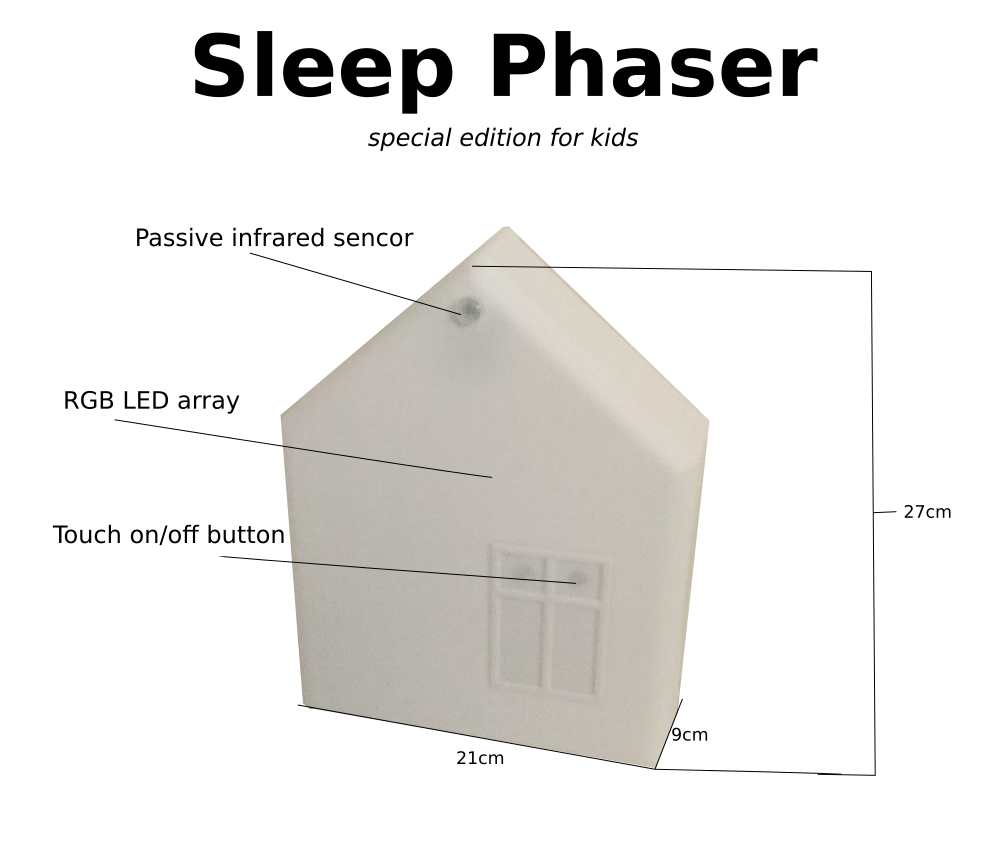 Special edition of Sleep Phaser - the sleep phaser for kids